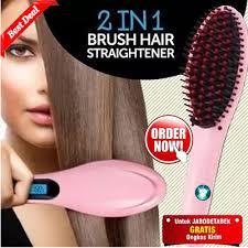 Catok Ion buy magic hair brush electric comb hair straightener deals for only