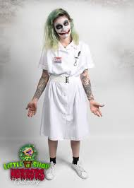 little shop of horrors costumery joker nurse costume little shop