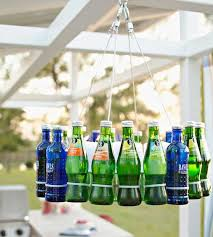 Diy Bottle Chandelier Cheap Diy Projects For Summer Backyard Kitchen And Outdoor Patio
