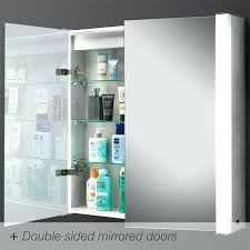 double door mirrored bathroom cabinet amazing double sided mirror bathroom cabinet exquisite in
