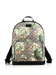 bloom backpack gucci gg bloom supreme canvas backpack is this a idea or