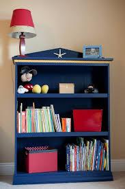 Bookcase For Boys Good Idea For A Nautical Themed Boys Bookshelf Get Some Blue Paint