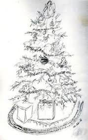 christmas tree sketch stock photos search results page 3