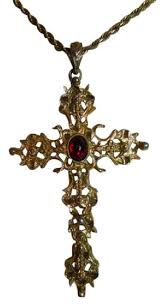 vintage cross necklace images Avon vintage abbey cross necklace tradesy jpg