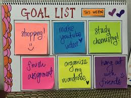 diy creative goal list using sticky notes u0026 sharpie youtube