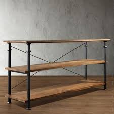 Industrial Looking Bookshelves by Best 20 Industrial Tv Stand Ideas On Pinterest Industrial Media