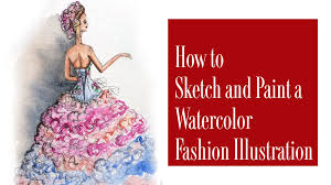 how to sketch a fashion illustration for beginners stella de