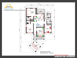 home plan and elevation 2000 sq ft kerala home design and floor