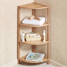 Corner Storage Shelves by Adorable Corner Shelf Bathroom Storage For Home Design Planning