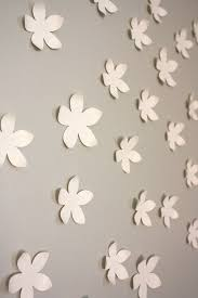 White Flower Wall Decor Wonderful Decoration 3d Flower Wall Decor Merry 13 Best Images