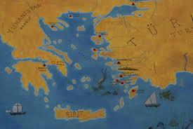 Aegean Sea Map Aegean Sea Insatiably