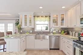 kitchens with stainless appliances white kitchen cabinets with stainless appliances kitchen and decor