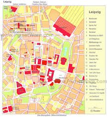 Map Of Germany Cities by Leipzig Map