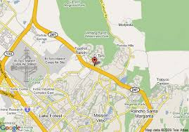 foothill cus map map of garden inn irvine east lake forest foothill ranch