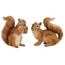 wonderland pair of squirrel