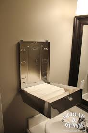 Ditch Your Hand Towel For A Stainless Steel Paper Towel Dispenser - Paper towel dispenser for home bathroom