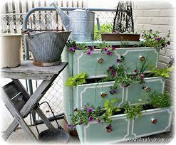 12 best unique planters images on pinterest old dressers