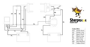6 wire remote wiring diagram com remarkable warn winch carlplant