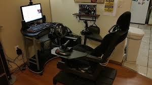 Flight Sim Desk Building A Diy Flight Driving Sim Pit On A Budget U2013 Vrspies