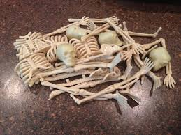Halloween Cupcakes Skeleton by Halloween Treats Boneyard Cupcakes The Tiptoe Fairy