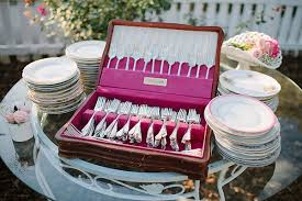 wedding silverware front porch wedding archives southern weddings