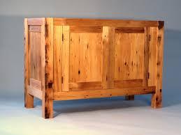 Pine Bathroom Furniture Reclaimed Pine Bathroom Vanity Eric Furstenberg