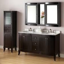 Bathroom Cabinets Espresso Bathroom Mirror Medicine Cabinet 60
