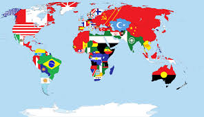 Flag Of The World Download Map World Flags Major Tourist Attractions Maps
