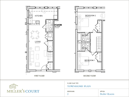 two story loft floor plans fp townhomeplans boilerroom gif 1000 750 architectural
