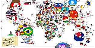 World Map Of Europe by Polandball Map Of The World 2014 Polandball