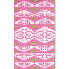 Pink Outdoor Rug Indoor Outdoor Rugs For Spaces Rosenberry Rooms