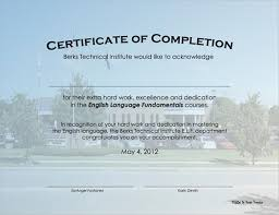 examples of certificates of completion 7 free certificate of completion templated excel pdf formats