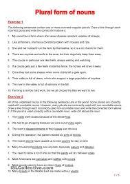 best 25 plural form of nouns ideas on pinterest irregular