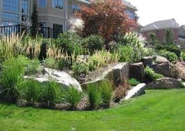 landscape design using rocks
