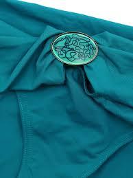 louise paris dnud peacock blue triangle retail price 180