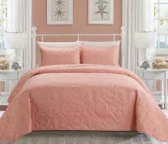 Seashell Duvet Cover Seashell Coral Reversible Bedspread Quilt Set