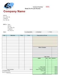 Free Auto Repair Invoice Template Excel 5 Best Images Of Automotive Invoice Template Free Auto Repair