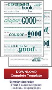free father u0027s day printable coupon booklet from printable