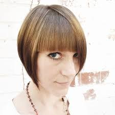 graduated bob hairstyles with fringe 22 trendy bob hairstyles with bangs popular haircuts