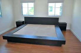 King Size Platform Bed King Size Platform Bed Without Headboard King And Beds