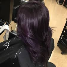 weave hairstyles with purple tips awesome glamorous dark purple hair color ideas u destined to