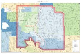 Evanston Illinois Map by Township Map Niles Township Assessor