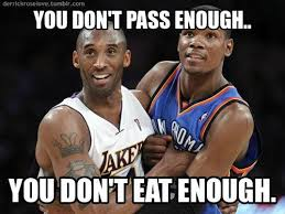 Kobe Memes - funny nba pictures with captions thunder lakers la lakers funny