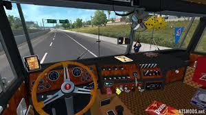kenworth truck interior kenworth k100 3 0 w interior addons ats mods