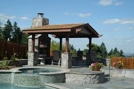 Covered Outdoor Kitchen Designs by Choosing The Right Covered Structure Or Pergola Design By Bjorn