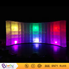 Cheap Photo Booth Rental Cheap Inflatable Curved Wall Photo Booth With Led Lighting Color