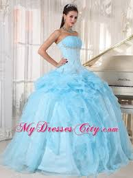 baby blue quinceanera dresses made strapless beaded baby blue quinceanera gowns with ups