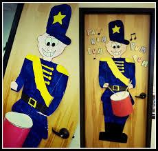 drummer boy christmas door decorating getting my creative on