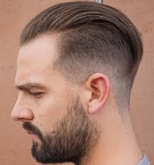 undercut slick back receding hairline hair style fashion