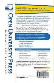 nurses test yourself in pathophysiology amazon co uk rogers